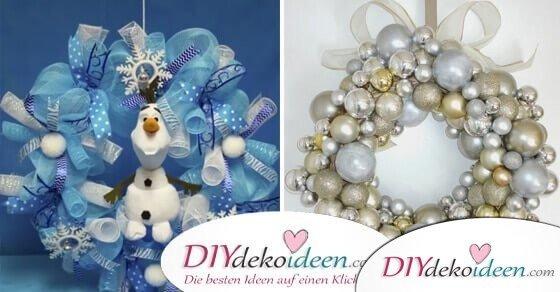 Was haben Wattepads und Schwimmnudeln mit DIY Weihnachtsdeko Ideen zu tun?