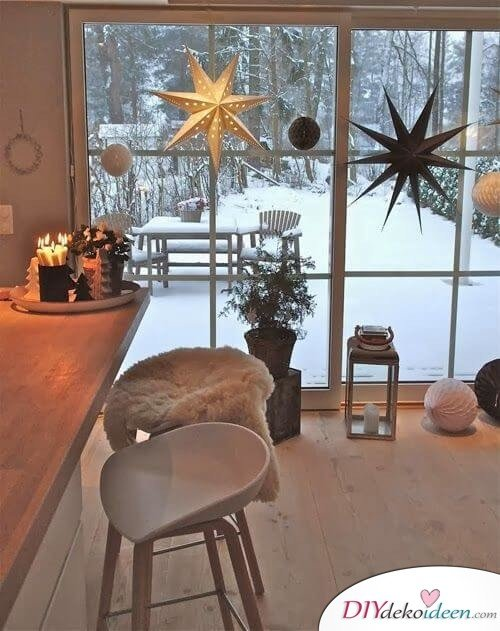 skandinavische diy weihnachtsdeko und bastelideen zu weihnachten. Black Bedroom Furniture Sets. Home Design Ideas