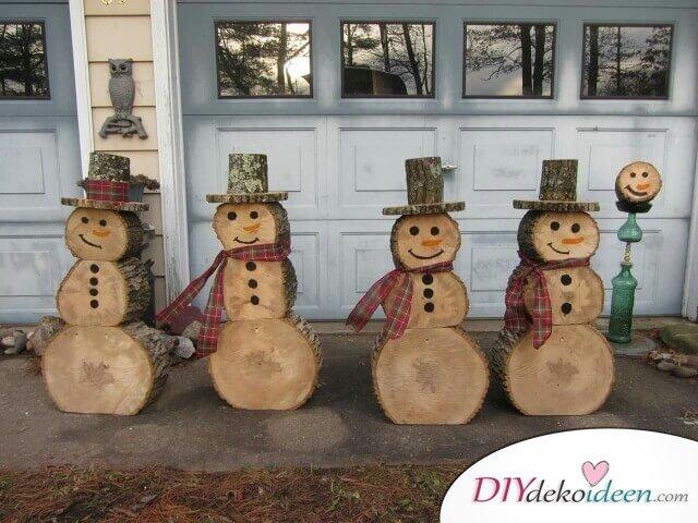 Holz Deko Ideen Weihnachten Wohn Design