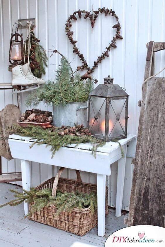 skandinavische diy weihnachtsdeko und bastelideen zu. Black Bedroom Furniture Sets. Home Design Ideas