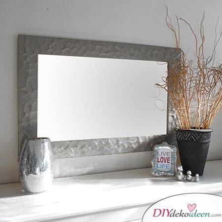 DIY Spiegel besprühen, WohnDeko selber machen