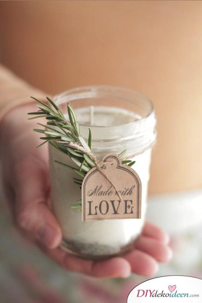 geschenk im glas so nutzt du weckgl ser f r diy weihnachtsgeschenkideen. Black Bedroom Furniture Sets. Home Design Ideas