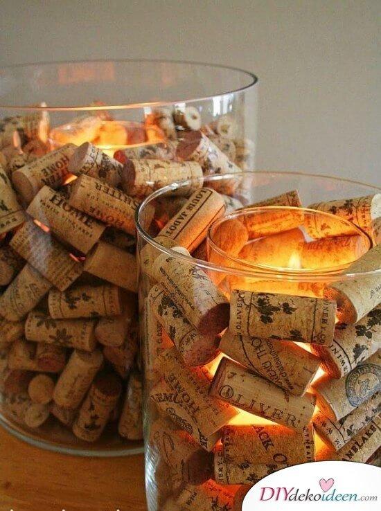 mit diesen 25 ideen kannst du stilvolle deko-kerzenhalter selber ... - Deko Ideen Aus Holz Selber Machen