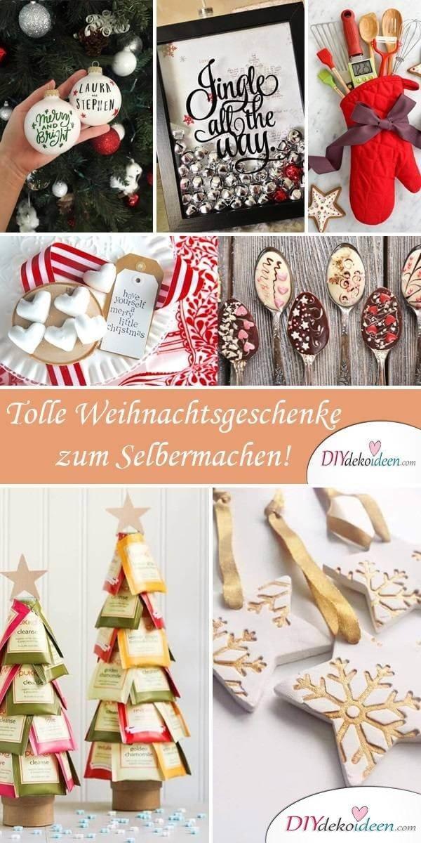 Weihnachtsgeschenke Kleinigkeiten.25 Geniale Bastelideen Für Diy Geschenke Zu Weihnachten