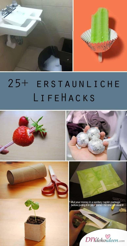 25+ geniale DIY Deko Ideen und Life Hacks
