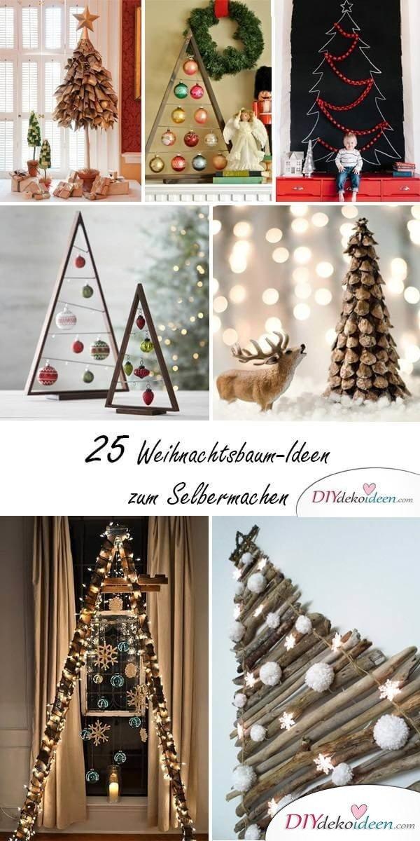 DIY Weihnachtsbaum selber machen - Deko Ideen