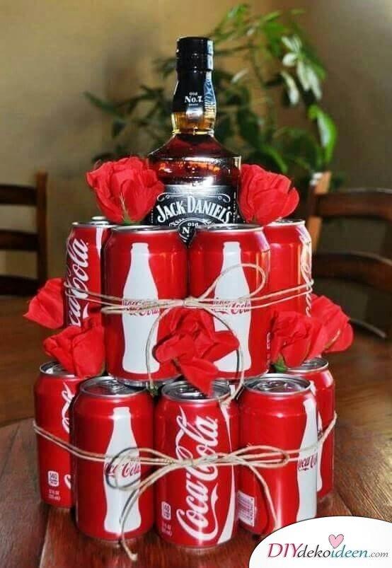 Geschenk Für Ihn Whiskey Und Cola Kreativ Verschenken