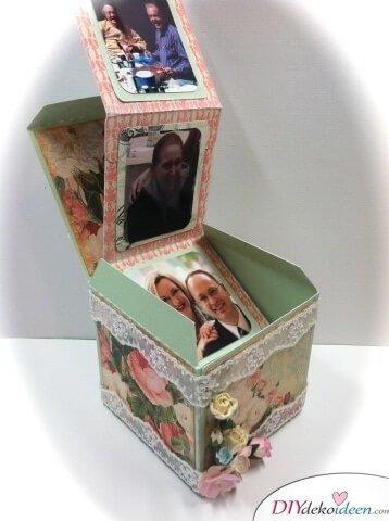 Romantisches DIY Geschenk - Fotoalbum