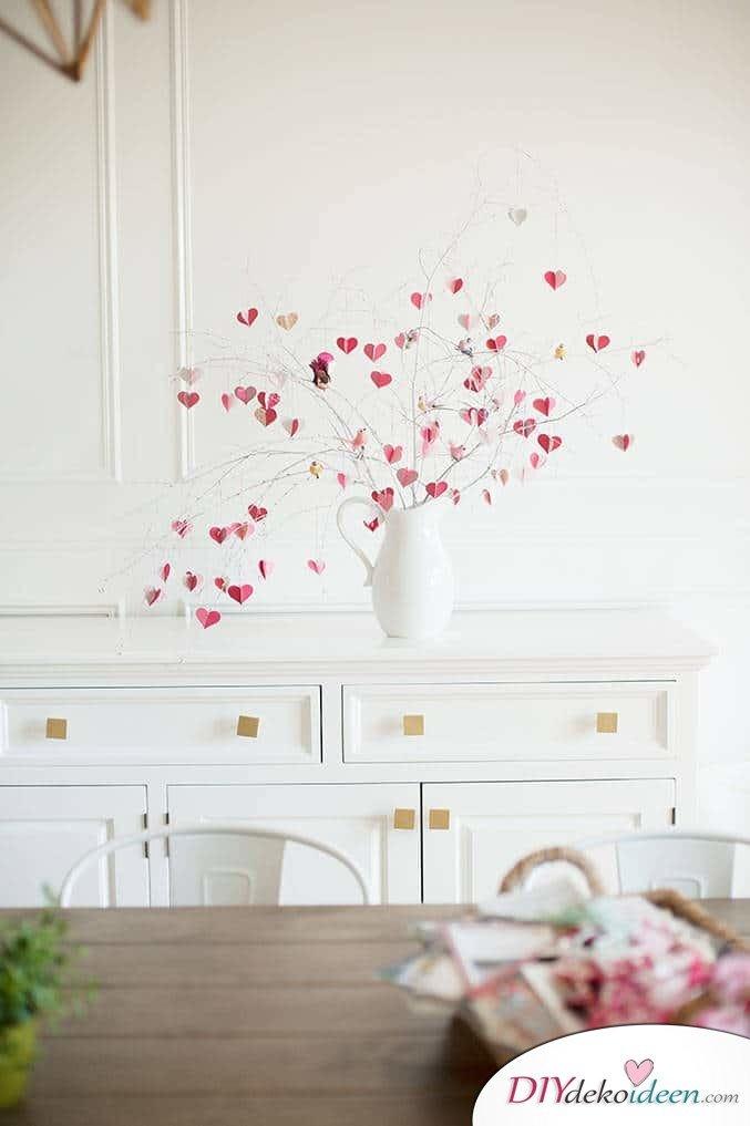 DIY Valentinstagsdekoration