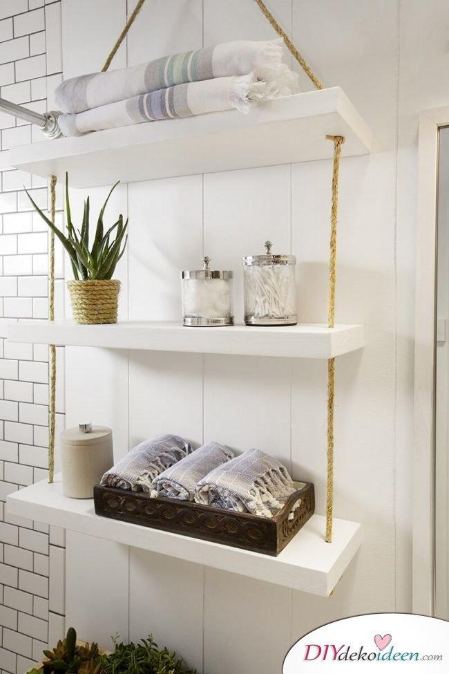 Regal selber bauen - kreative Wohnideen mit Naturmaterialien