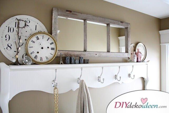DIY Spiegel - rustikale Badezimmer Ideen