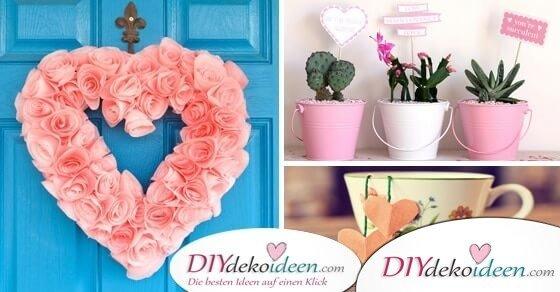 Romantische DIY Valentinstag Geschenke – Mit Liebe gemacht