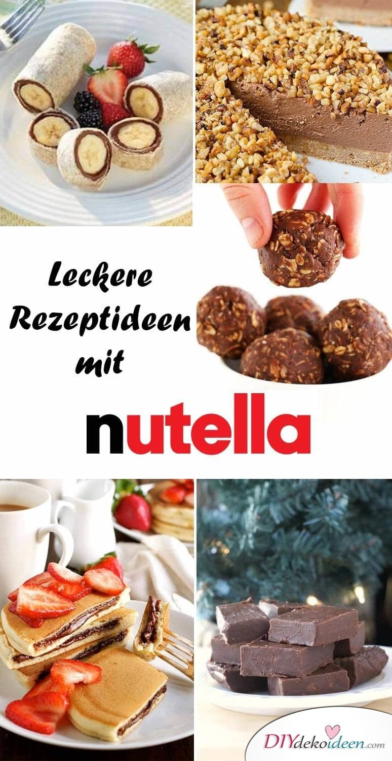 diy einfache rezepte f r nachspeisen mit nutella. Black Bedroom Furniture Sets. Home Design Ideas