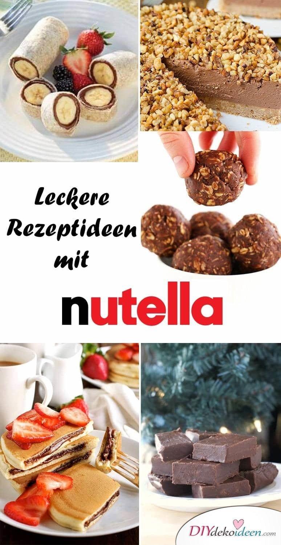 Leckere Rezepte mit Nutella