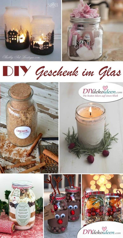 DIY Geschenk selber machen - Weihnachtsgeschenk im Weckglas