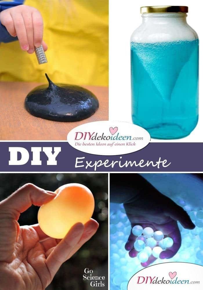 DIY Experimente für Kinder