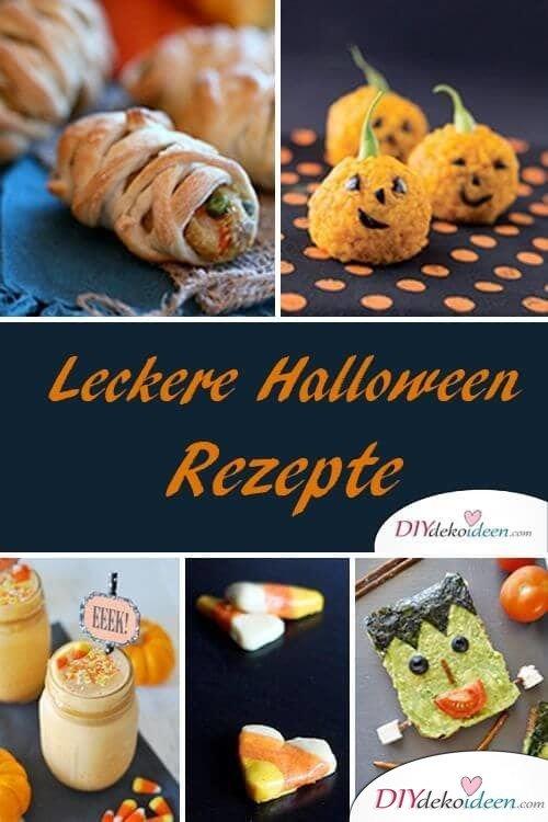 Leckere, einfache Rezepte zu Halloween