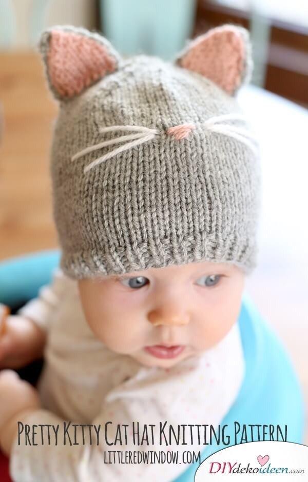 Babymütze selber stricken - DIY Strickanleitung
