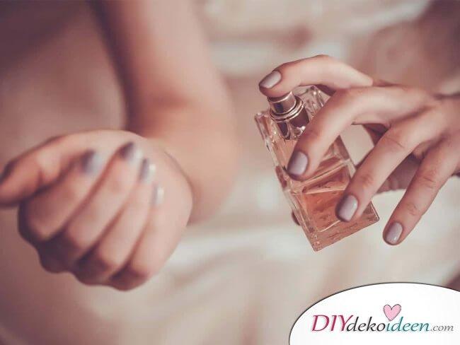 Parfüm intensivieren - DIY Beauty Hacks