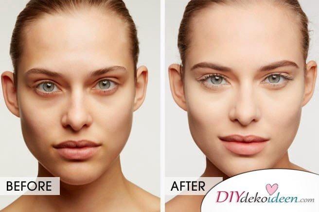 Augenringe mit Teebeuteln behandeln - DIY beauty hacks