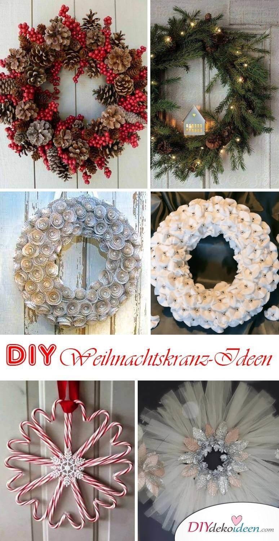 DIY Weihnachtskranz selber machen