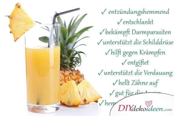 10 Gründe, warum es sich mit einer Ananas gesund leben lässt!