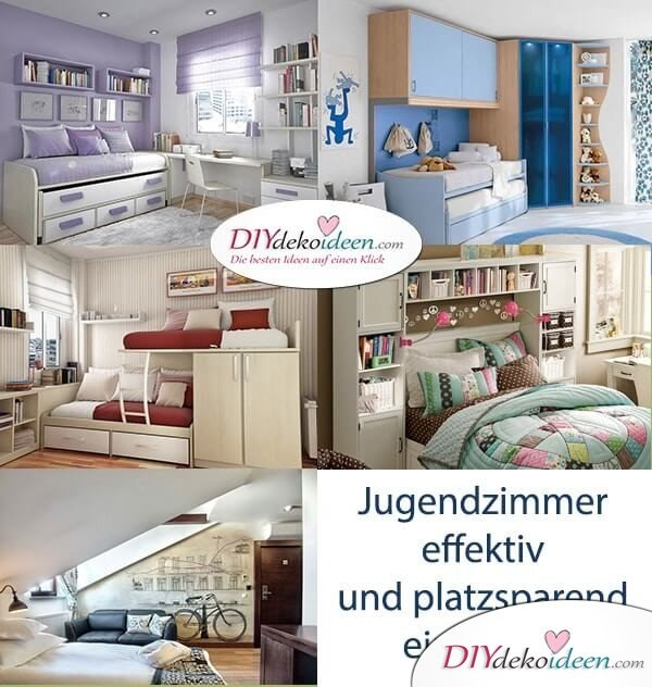 jugendzimmer effektiv und platzsparend einrichten. Black Bedroom Furniture Sets. Home Design Ideas