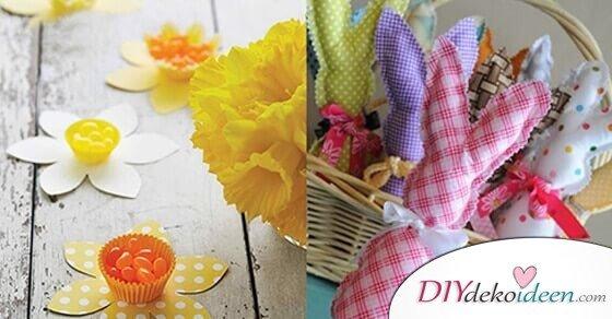 Süße und frühlingshafte DIY Ideen – Osterdeko basteln