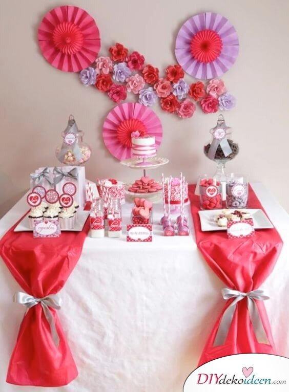 Party Deko Ideen Für Den Valentinstag