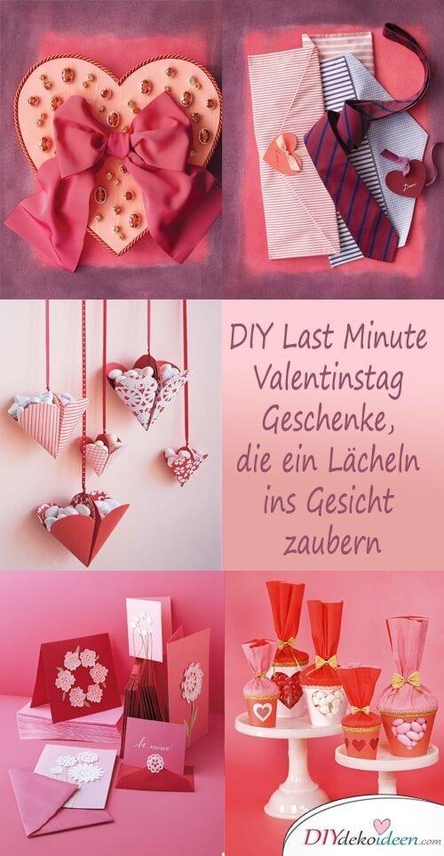 DIY Last Minute Valentinstag Geschenke, Die Ein Lächeln Ins Gesicht Zaubern