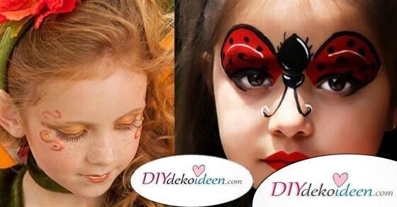 DIY Schminktipps – Ideen fürs Kinderschminken zum Karneval