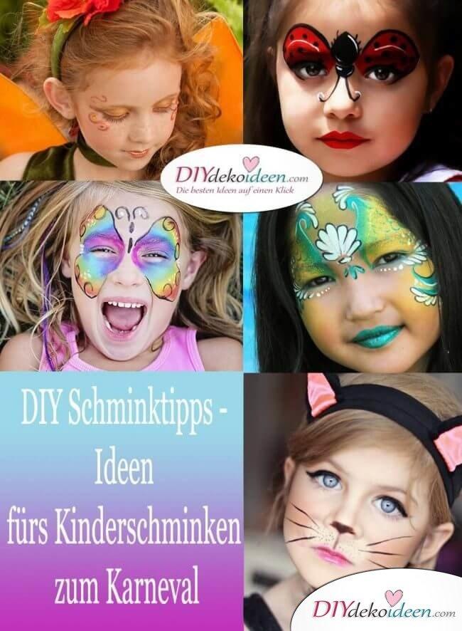 DIY Schminktipps - Ideen fürs Kinderschminken zum Karneval