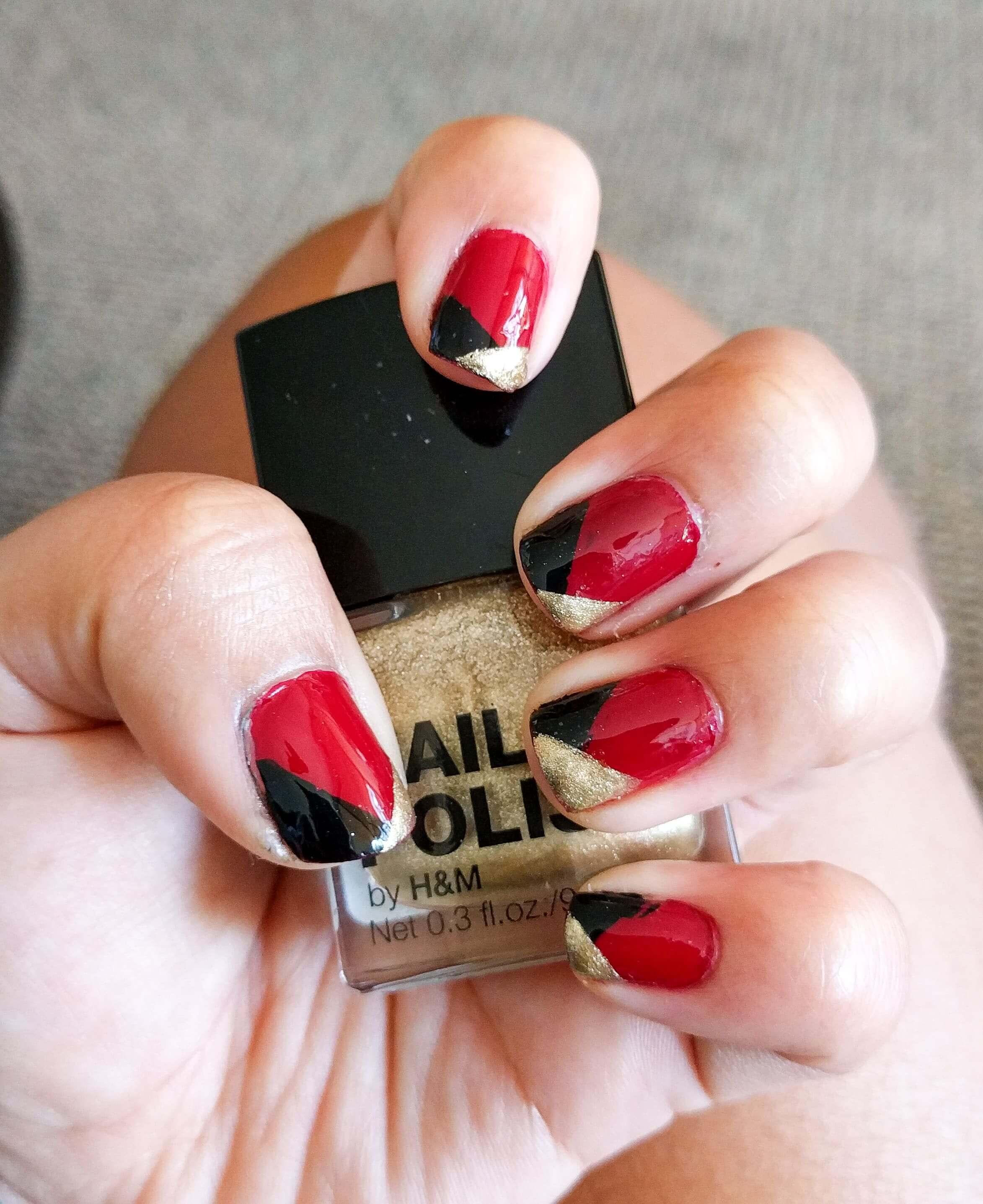 DIY Ideen für schöne Nägel zu Fasching - Harlekina-Maniküre