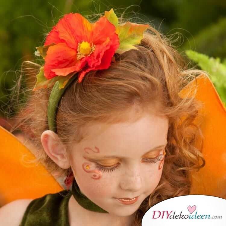 Wunderschöne Fee - DIY Schminktipps - Ideen fürs Kinderschminken zum Karneval
