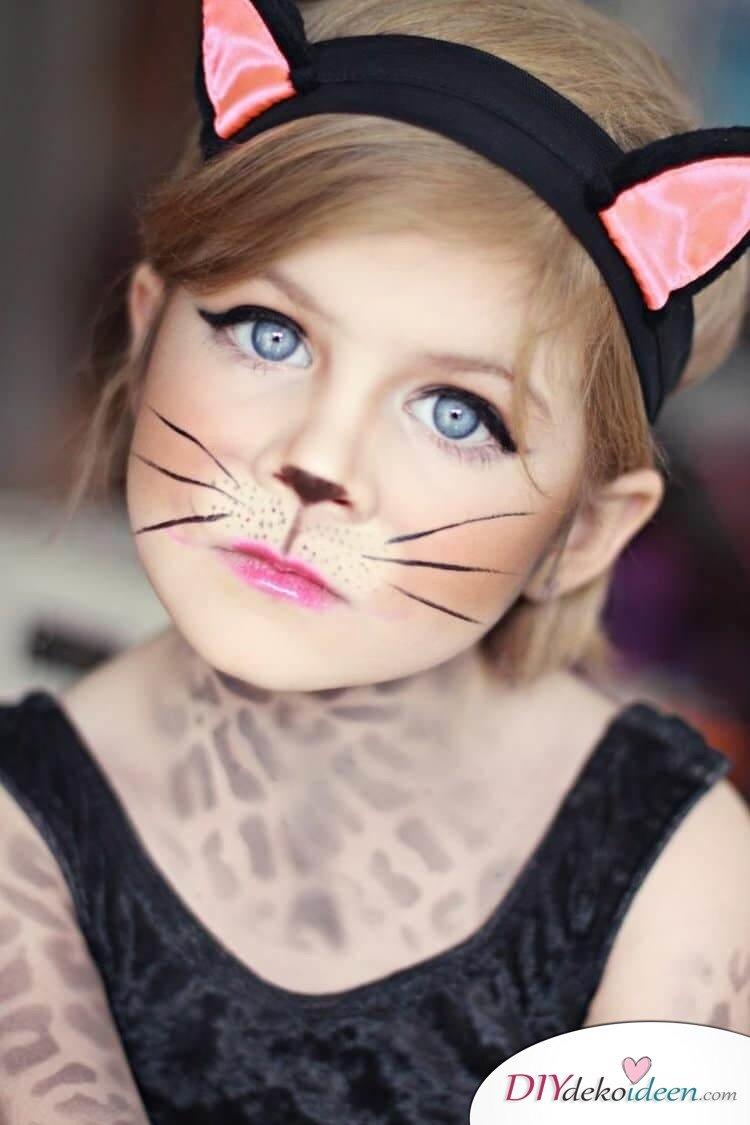 Süßes Kätzchen - DIY Schminktipps - Ideen fürs Kinderschminken zum Karneval