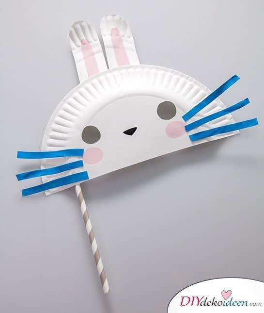 DIY Ideen für Faschingsmasken - Hasenmaske