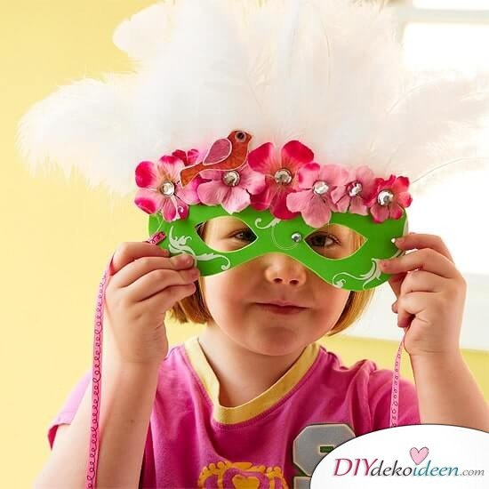 DIY Ideen für Faschingsmasken -Venezianische Maske