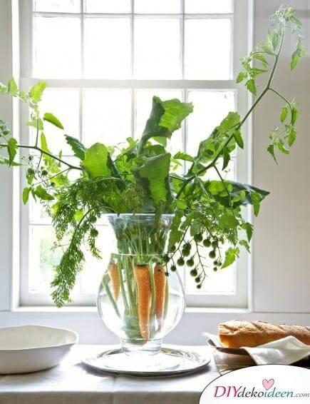 DIY Frühjahrsdeko-Ideen - Essbarer Strauß
