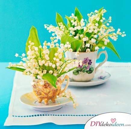 DIY Frühjahrsdeko-Ideen - Süße Teetassen