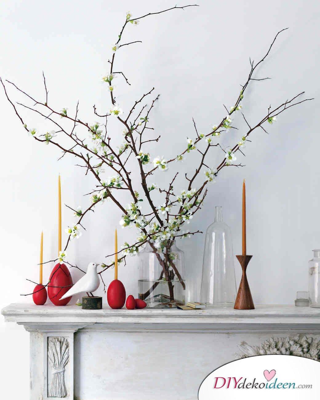DIY Ideen - Osterdeko basteln - Osterei-Kerzenständer