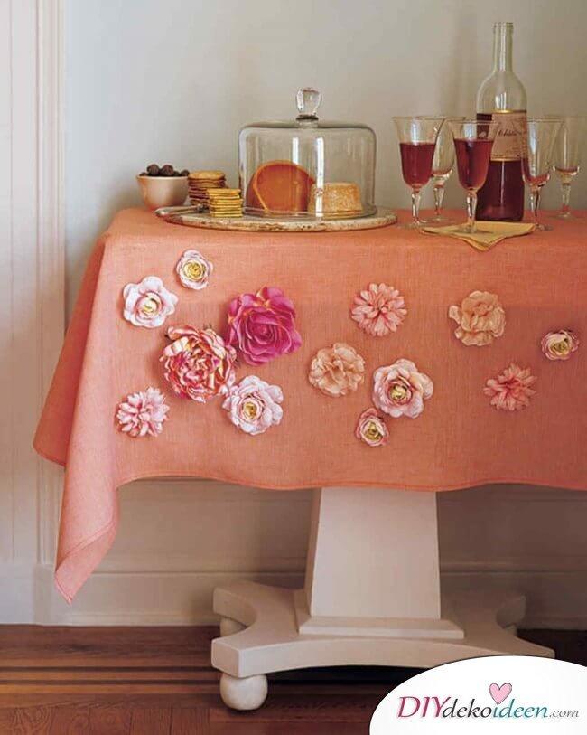 DIY Ideen - Frühlingsdeko selbst gestalten - Magnetische Blumen