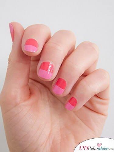Rosatöne - DIY Ideen für schöne Nägel zum Valentinstag