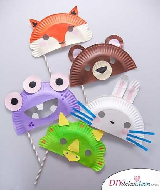 Diese Diy Ideen Für Faschingsmasken Werden Deine Kinder