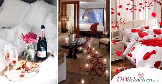Charmante DIY Schlafzimmer Deko-Ideen zum Valentinstag