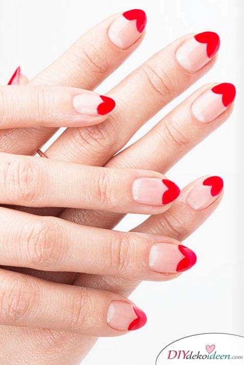 Herz an Herz - DIY Ideen für schöne Nägel zum Valentinstag