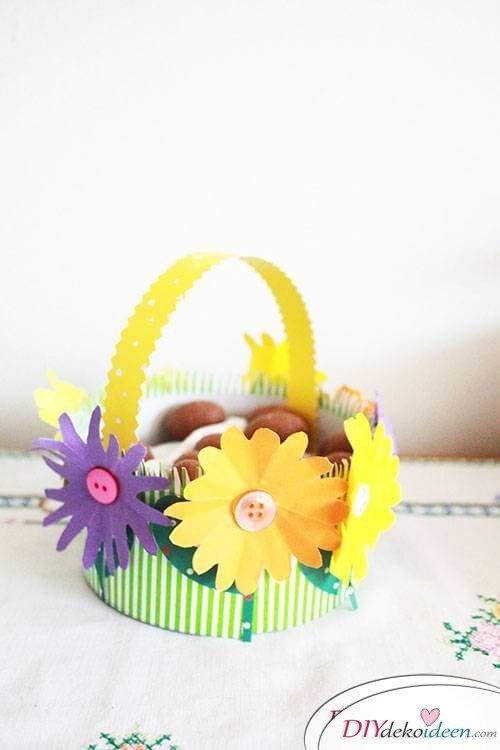 Süßes DIY Osterkörbchen