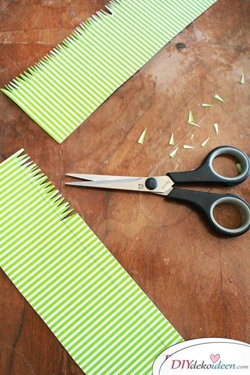 Süße DIY Bastelidee zu Ostern - Körbchen aus Papier