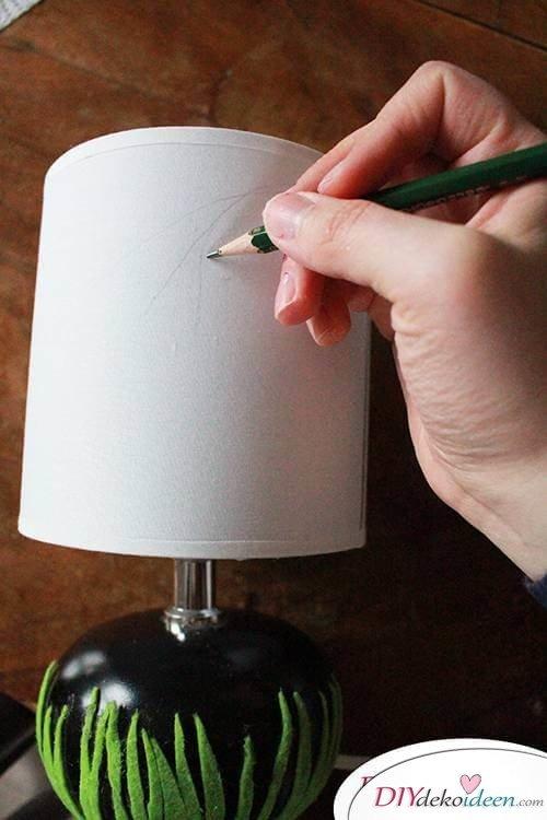 DIY Frühjahrsdekoideen – Skizze zeichnen