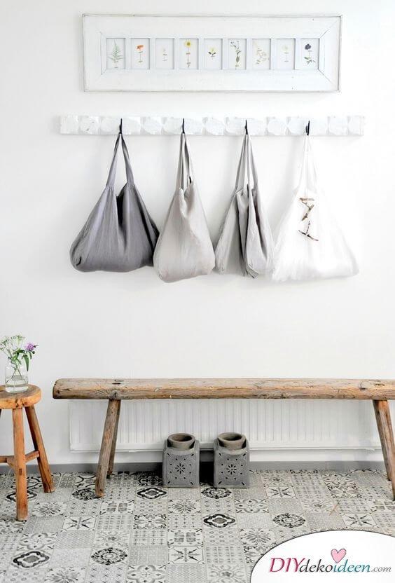 Fliesen-Deko Ideen: moderne Design Ideen, Einrichtungsideen mit marokkanischen Fliesen: Eingangsbereich minimalistisch