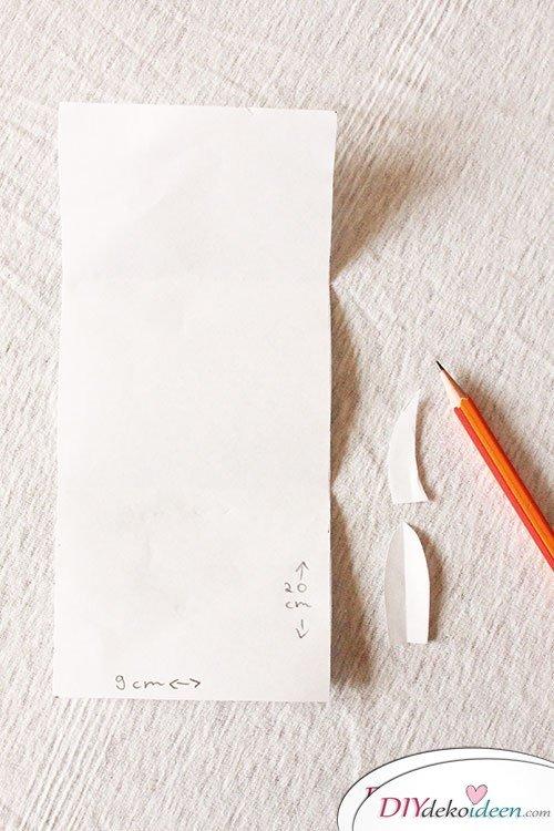DIY Monster Einladungskarten - Schablonen zeichnen
